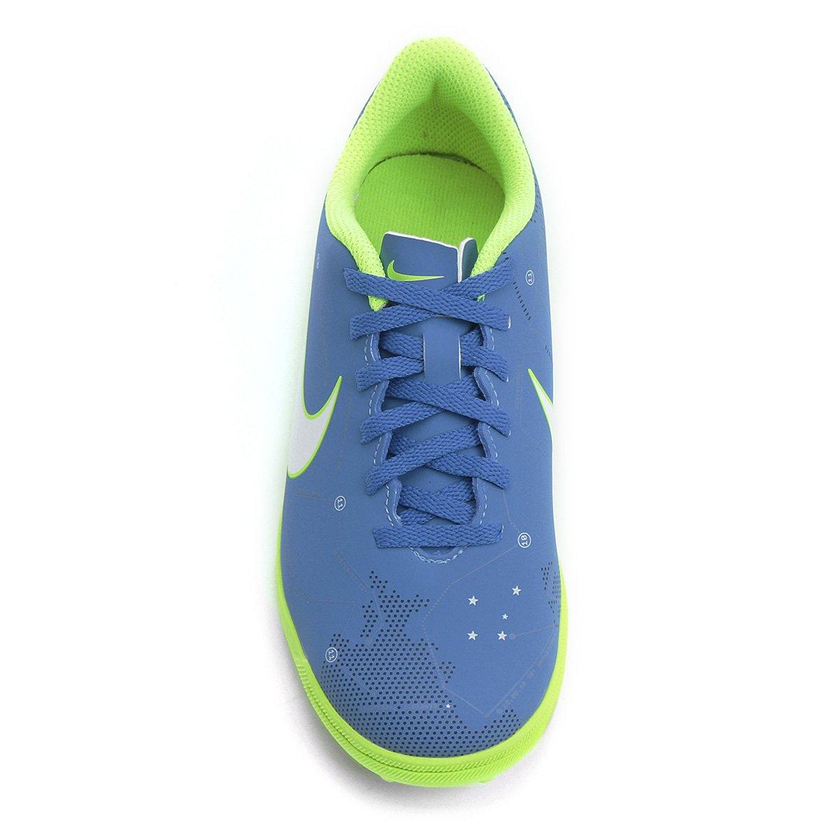 Chuteira Society Infantil Nike Mercurial Vortex 3 Neymar Jr TF ... bdd5e965a2feb