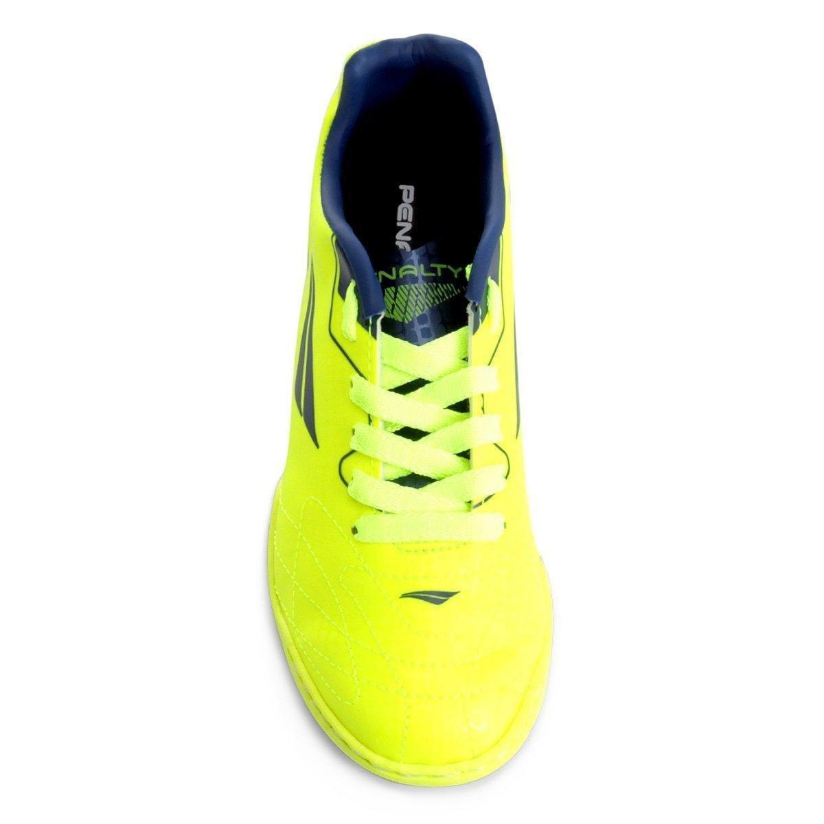 d508bb99ff Chuteira Society Infantil Penalty Soccer Matis VIII - Amarelo e Azul ...