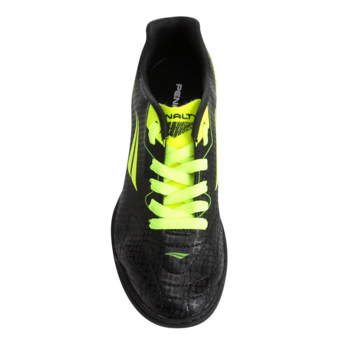 3fe7538c42 Chuteira Society Infantil Penalty Soccer Matis VIII - Preto e ...