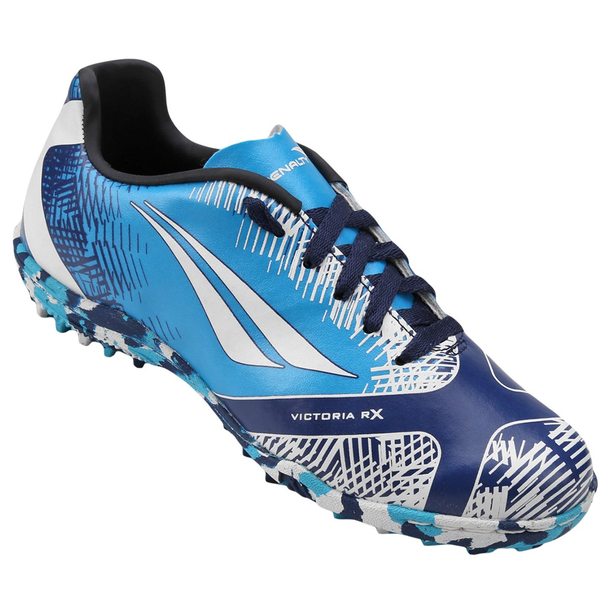 Chuteira Society Infantil Penalty Victoria K Soccer RX II 7 - Compre ... df35595cae881