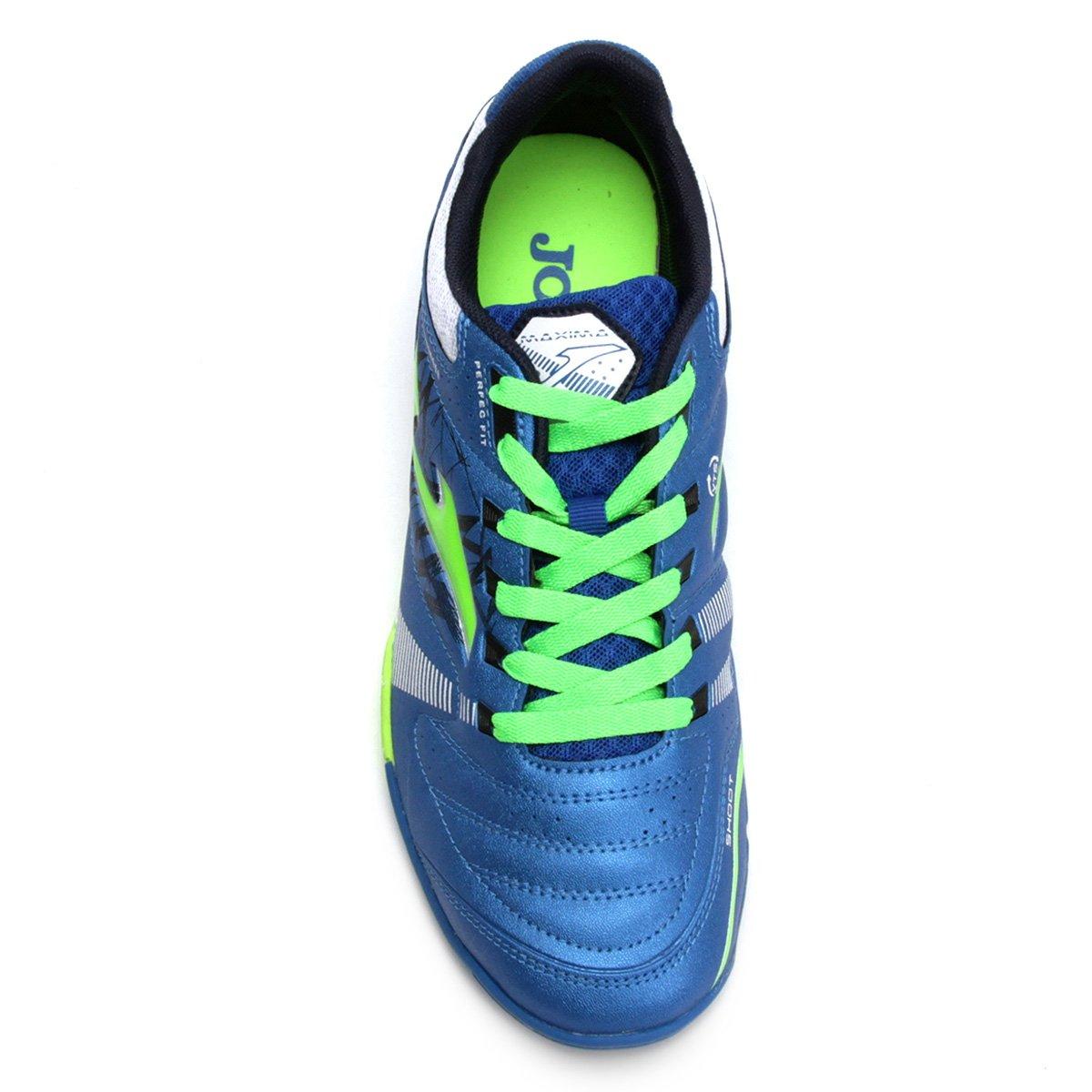 Chuteira Society Joma Maxima TF Masculina - Azul - Compre Agora ... a18f61c91bb4a