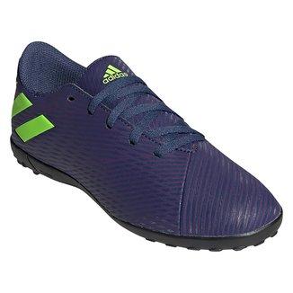 Chuteira Society Juvenil Adidas Nemeziz Messi 19 4 TF
