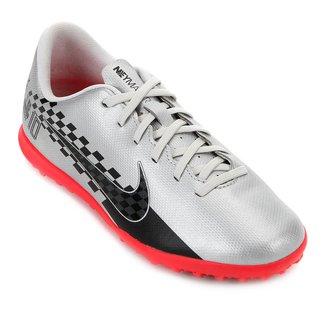 Chuteira Society Juvenil Nike Mercurial Vapor 13 Club Neymar Jr TF