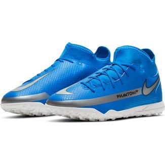 Chuteira Society Juvenil Nike Phantom Club DF