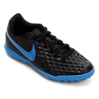 Chuteira Society Juvenil Nike Tiempo Legend 8 Club