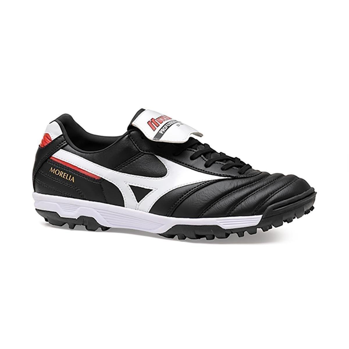 d23044e2cd Chuteira Society Mizuno Morelia Elite As Ii Pro - Preto e Branco ...
