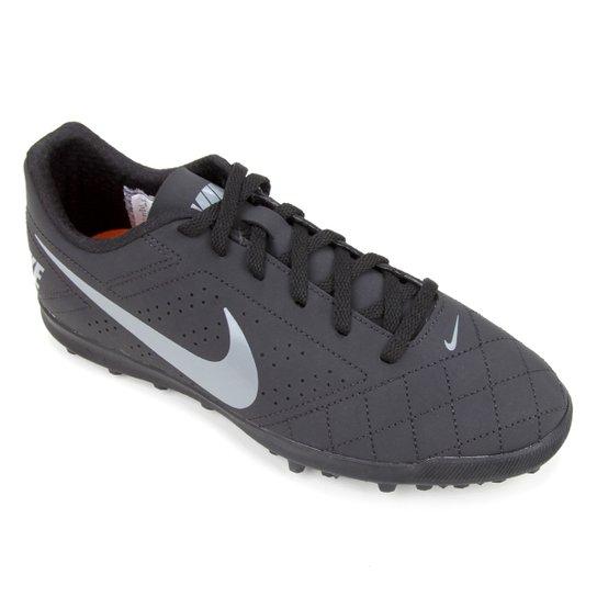 Chuteira Society Nike Beco 2 TF - Preto+Cobre