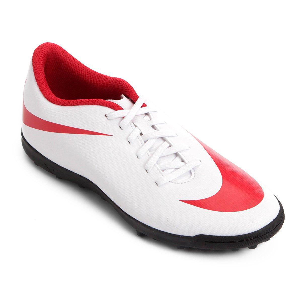 Bravata Masculina TF e Nike Society 2 Chuteira Vermelho Branco ZXxUHEwnq