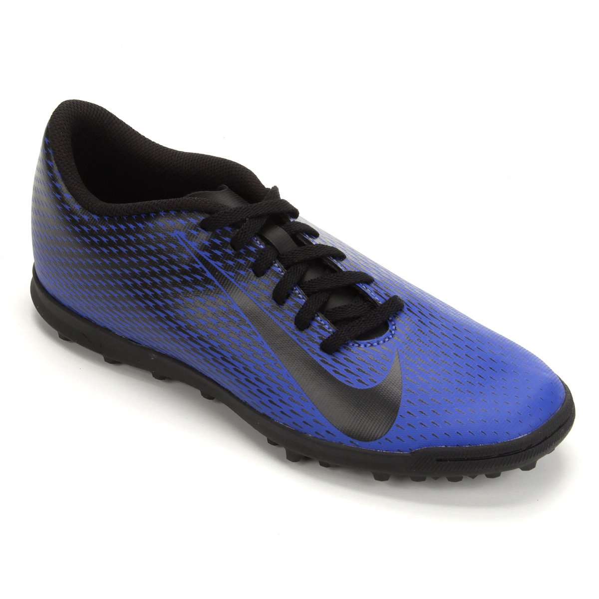 e6e16904894 Chuteira Society Nike Bravata 2 TF - Azul e Preto - Compre Agora ...