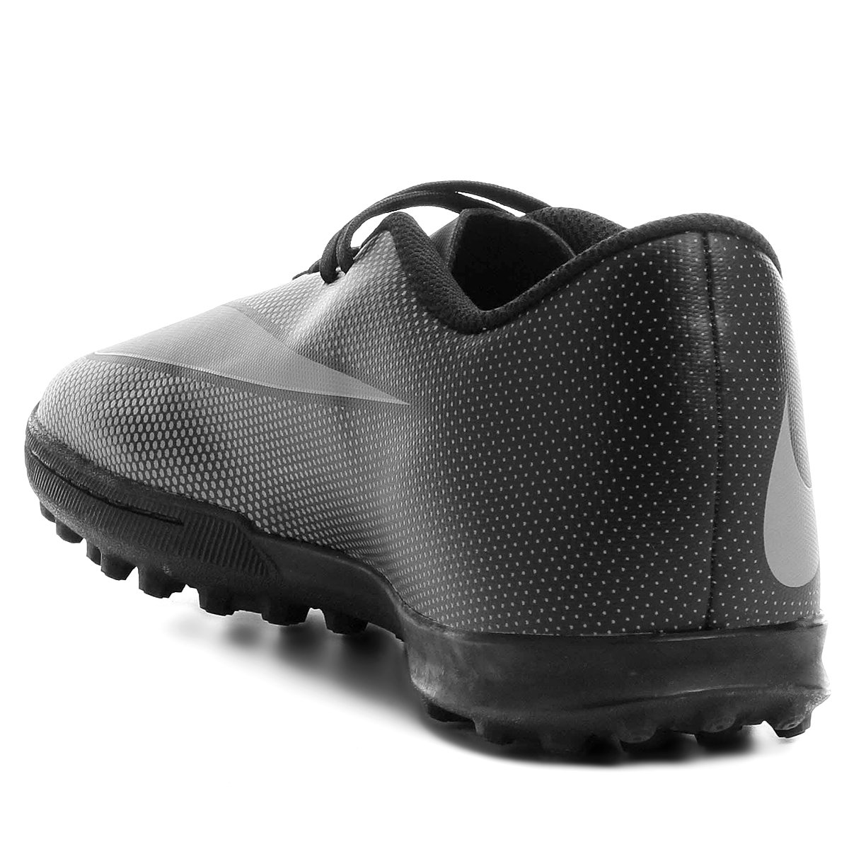 55d7b48b79 Chuteira Society Nike Bravata 2 TF - Preto e Cinza - Compre Agora ...