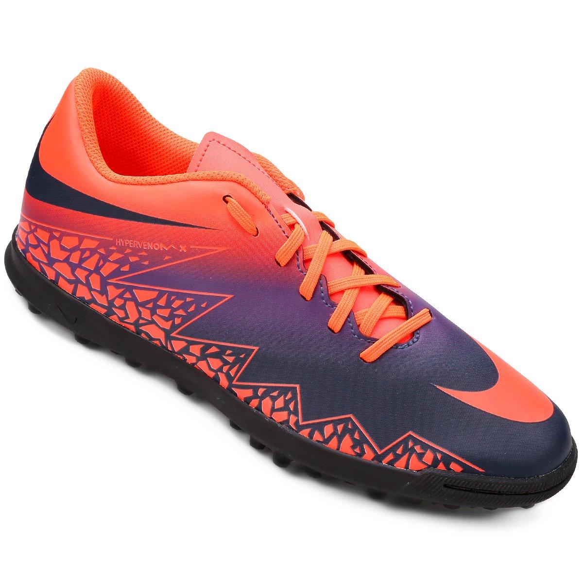 Chuteira Society Nike Hypervenom Phade 2 TF - Compre Agora  8de5d08667248