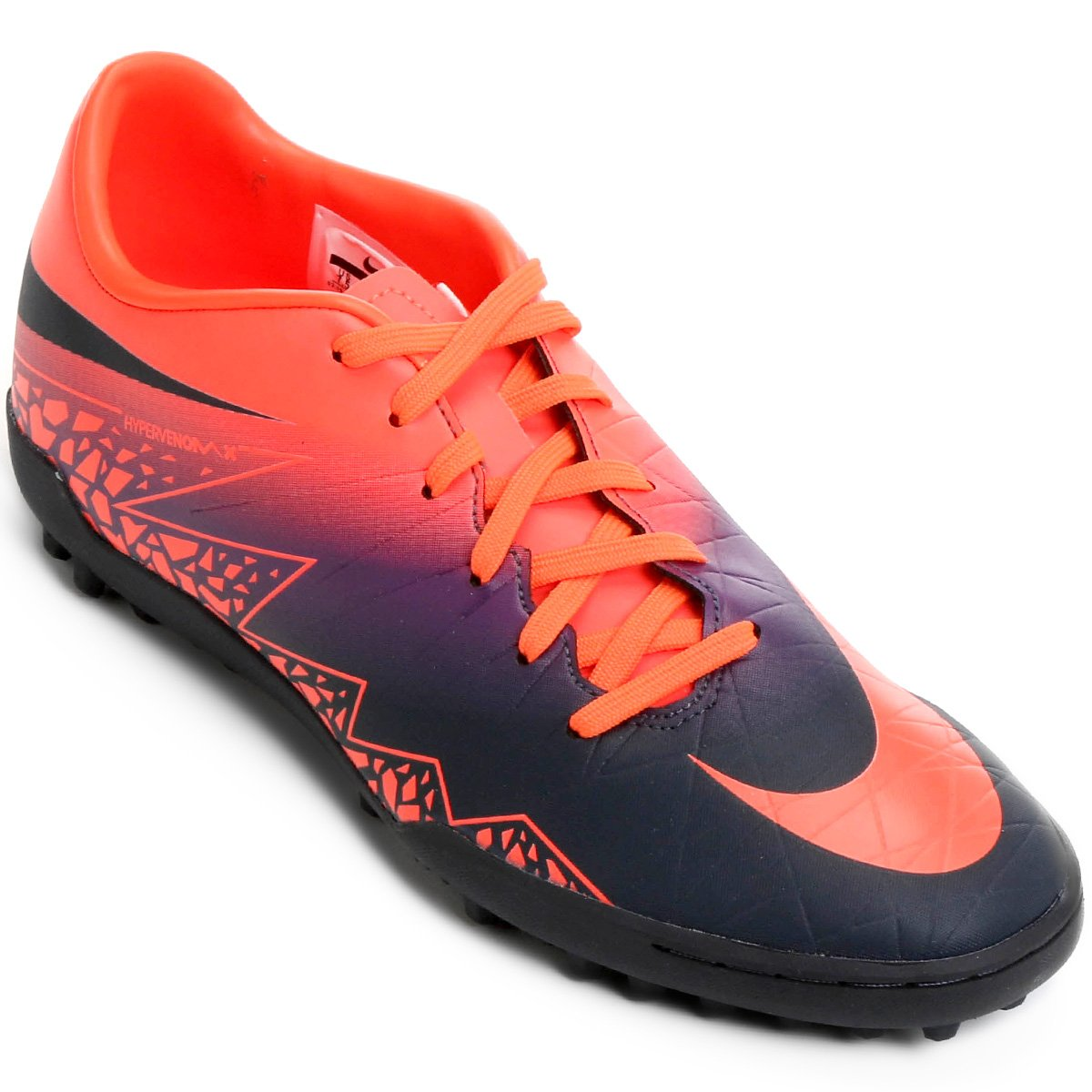 Chuteira Society Nike Hypervenom Phelon 2 TF - Compre Agora  45a7479e0fab2