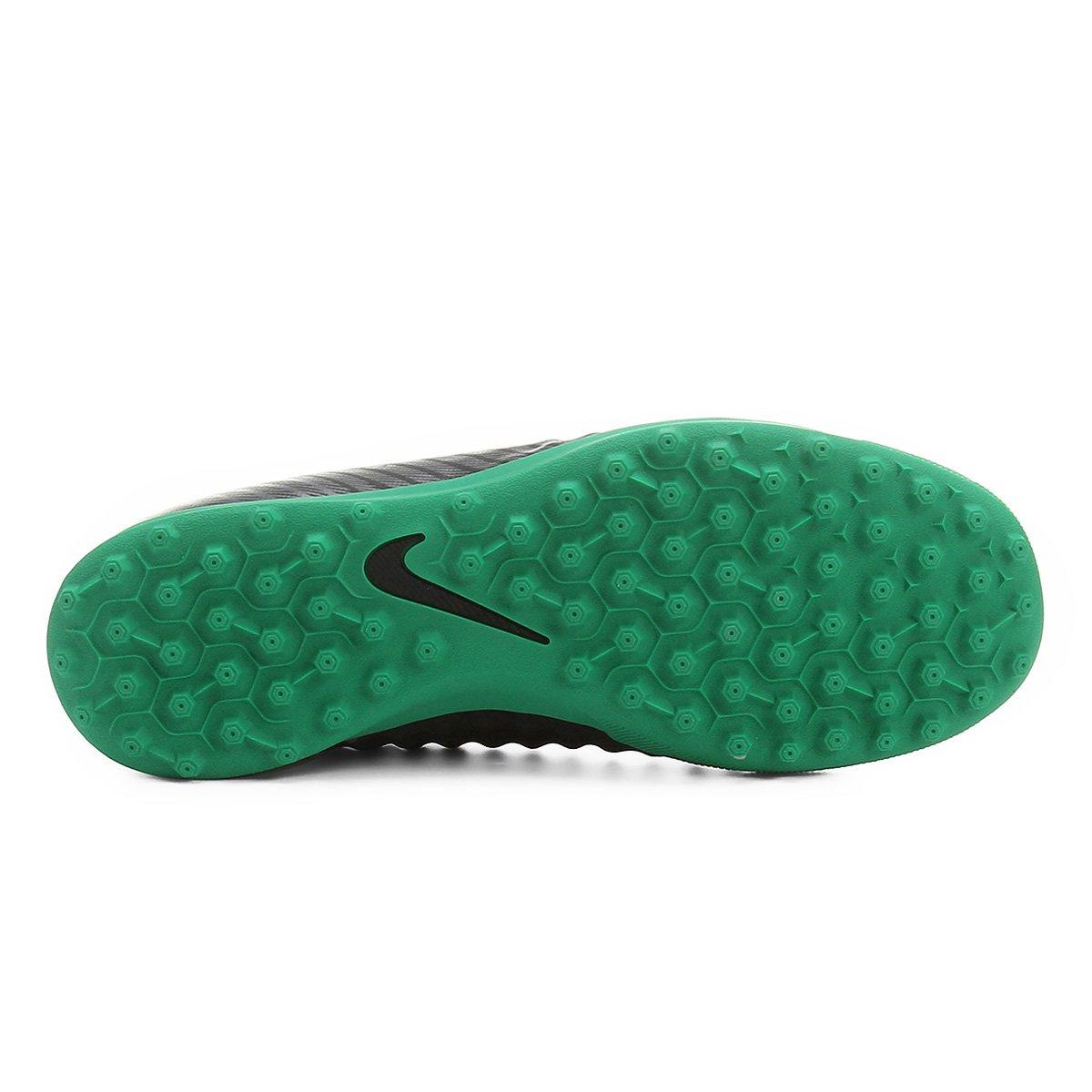 Society Masculina Preto e verde TF Chuteira Ola Nike Magista II qOwBdRTYRx