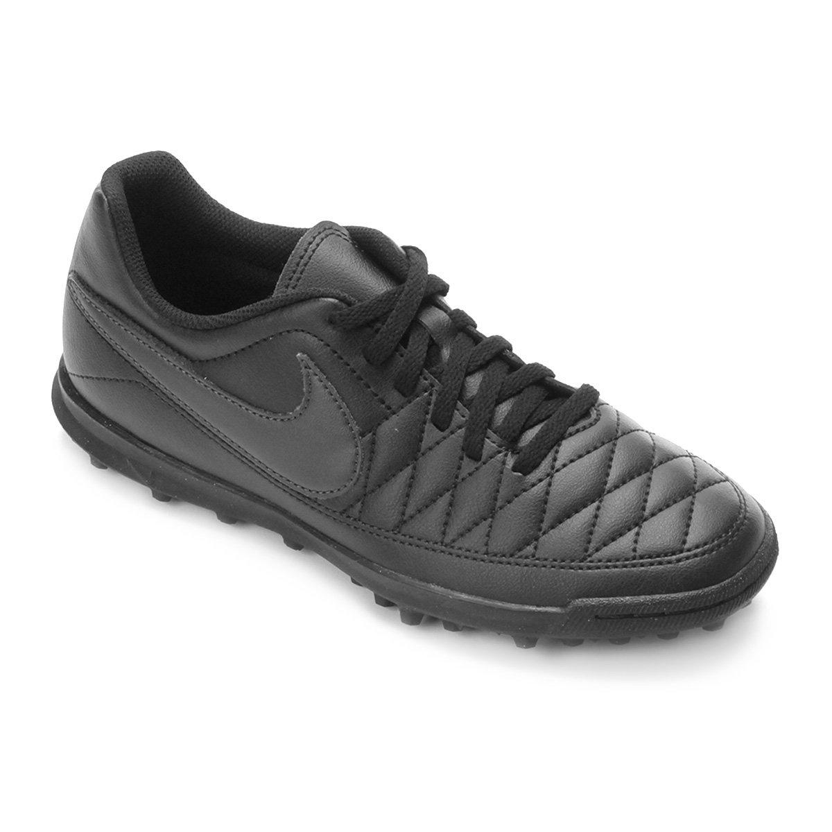 Chuteira Society Nike Majestry TF - Preto