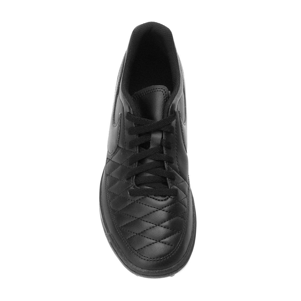 Chuteira Society Nike Majestry TF - Preto - Compre Agora  c263b876f8862