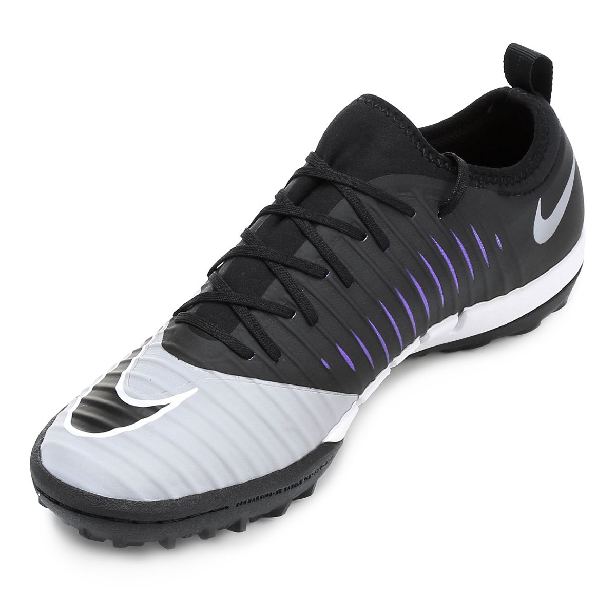 282429212e Chuteira Society Nike Mercurial Finale 2 TF - Preto e Cinza - Compre ...
