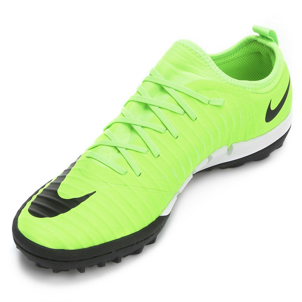 b6104814f4 Chuteira Society Nike Mercurial Finale 2 TF - Verde e Preto - Compre ...