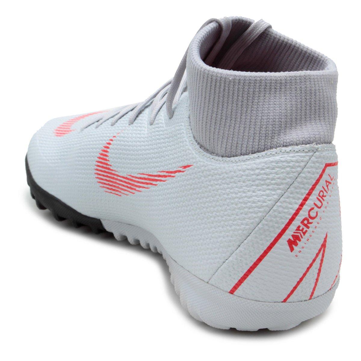 c2fb6cb556 Chuteira Society Nike Mercurial Superfly 6 Academy - Cinza - Compre ...