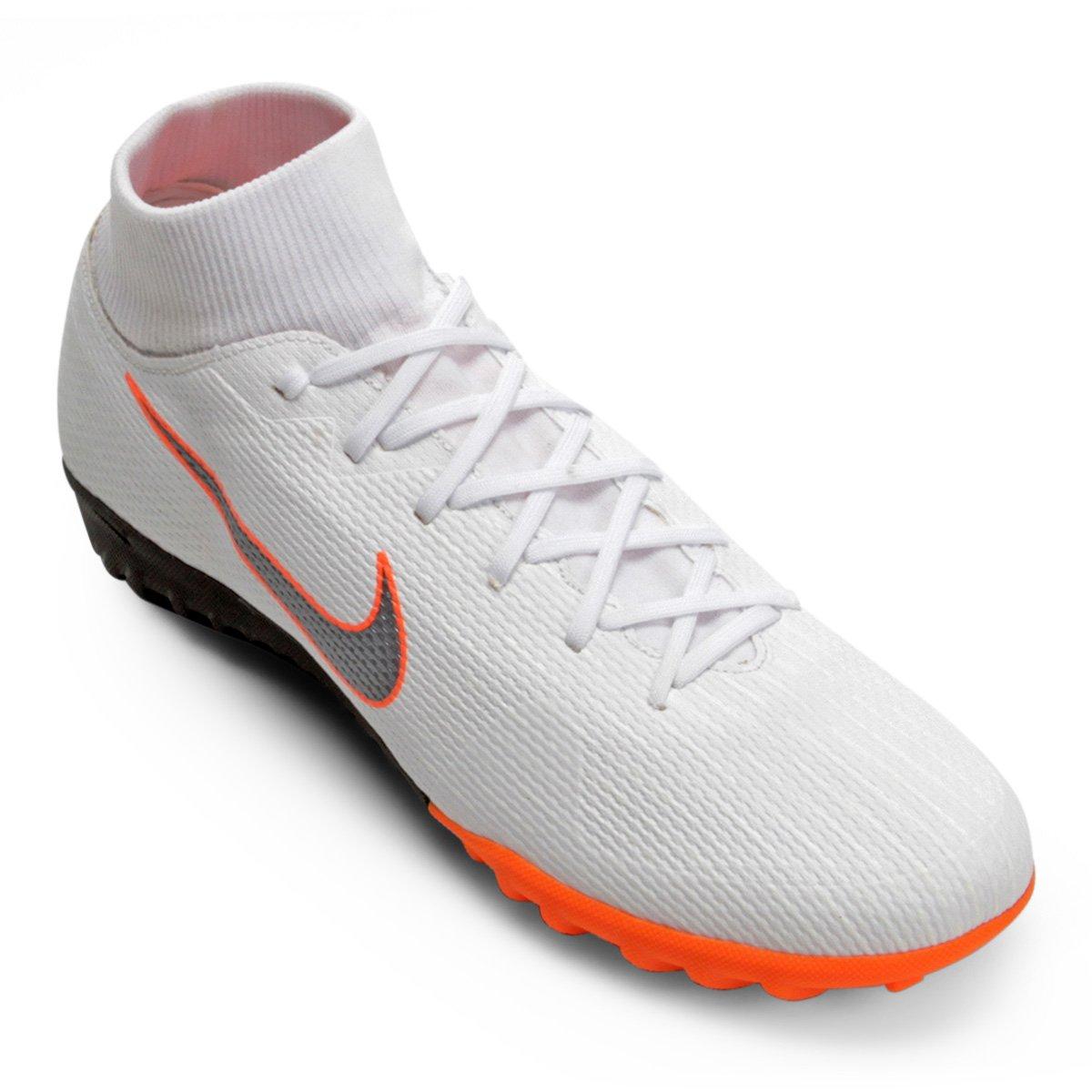 4378aa03a53b4 Chuteira Society Nike Mercurial Superfly 6 Academy - Branco e Cinza - Compre  Agora
