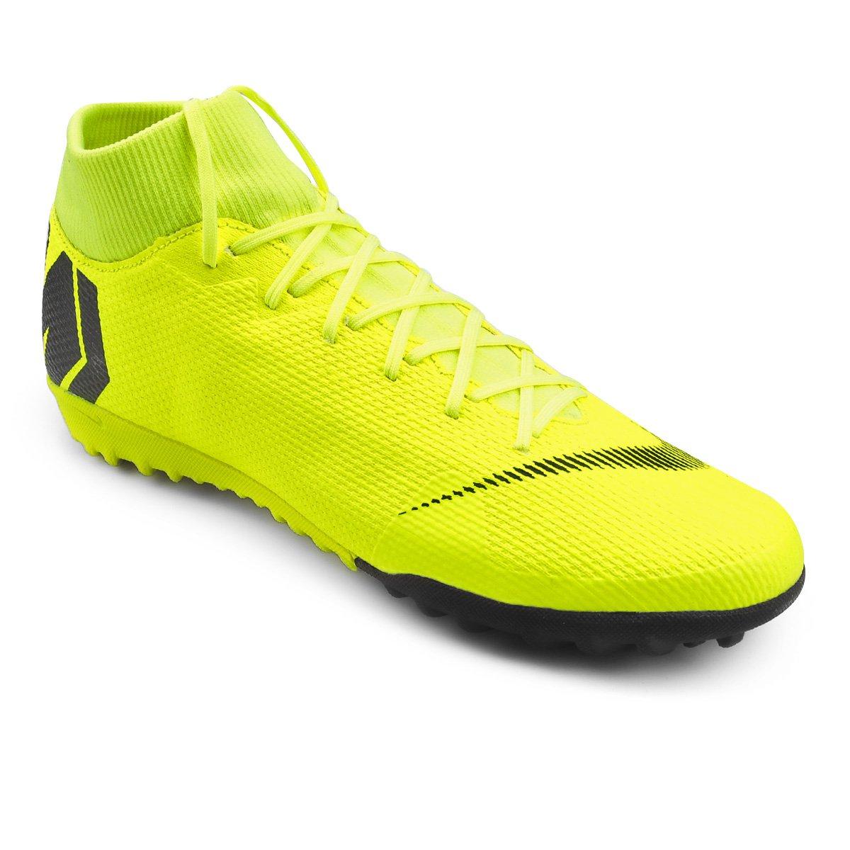 21d662803cd0f Chuteira Society Nike Mercurial Superfly 6 Academy - Amarelo e Preto -  Compre Agora