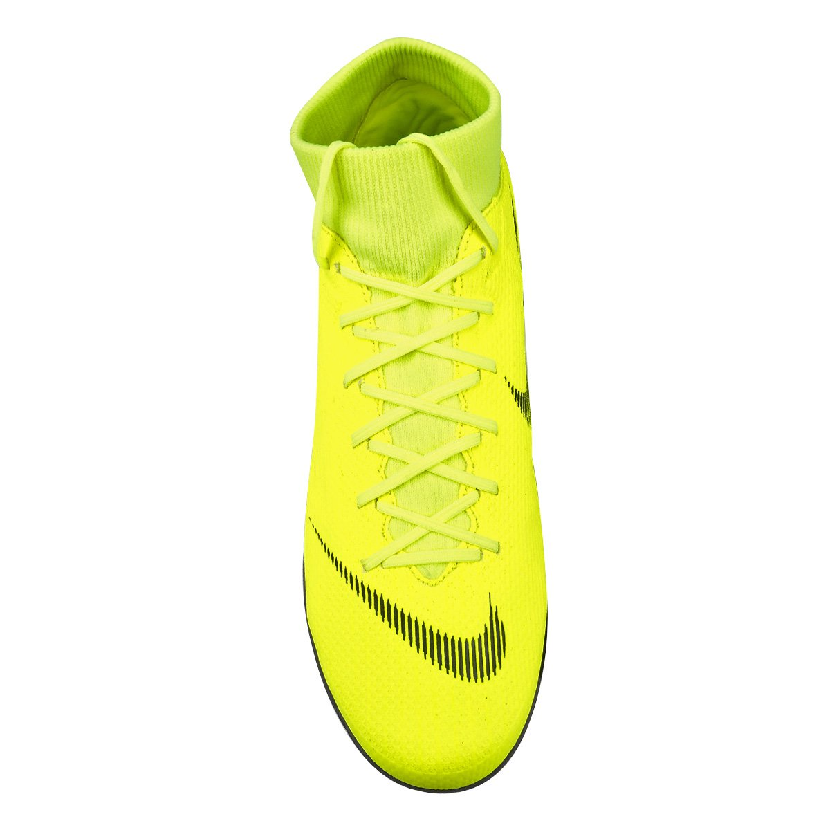 Chuteira Society Nike Mercurial Superfly 6 Academy - Amarelo e Preto ... 7cb10a25a7804