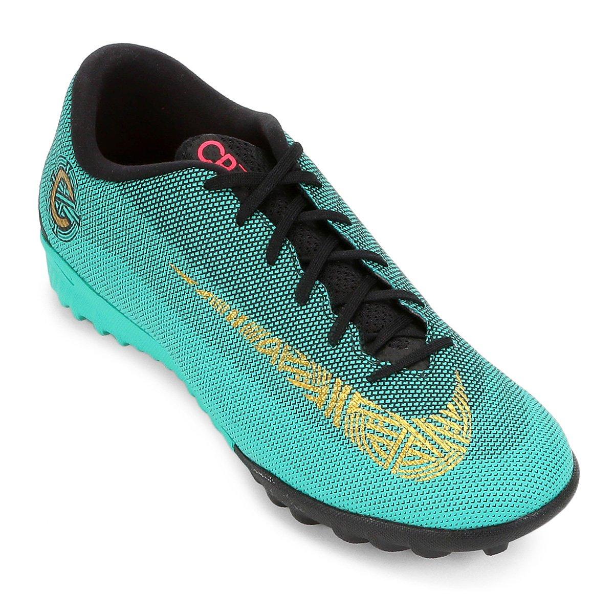 Chuteira Society Nike Mercurial Vapor 12 Academy CR7 TF - Compre Agora  98ffcad528ce1