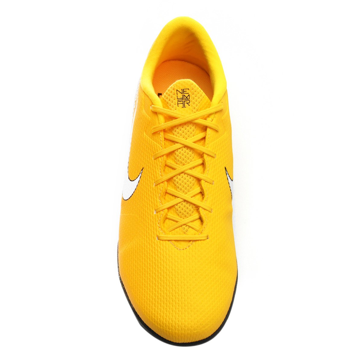 Chuteira Society Nike Mercurial Vapor 12 Academy Neymar TF - Amarelo ... f731774d21bf5