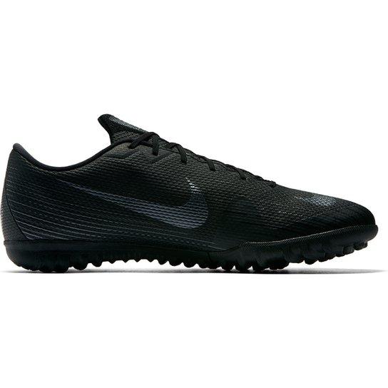 Chuteira Society Nike Mercurial Vapor 12 Academy - Preto