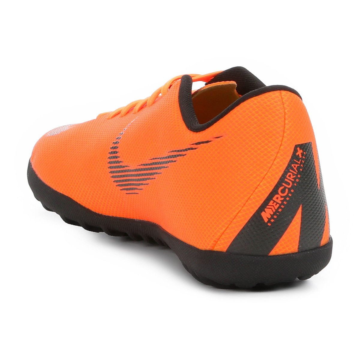 Chuteira Preto Society Masculina Mercurial Club e Laranja Nike Vapor 12 rrgzqBOwa