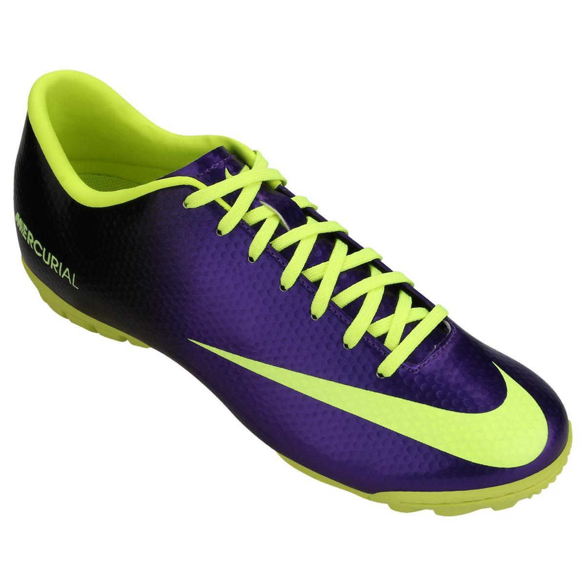 c00a62e82e Chuteira Society Nike Mercurial Victory 4 TF Masculina - Compre ...