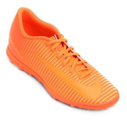 723d9e48974f1 Chuteira Society Nike Mercurial Vortex 3 TF - Laranja | Netshoes