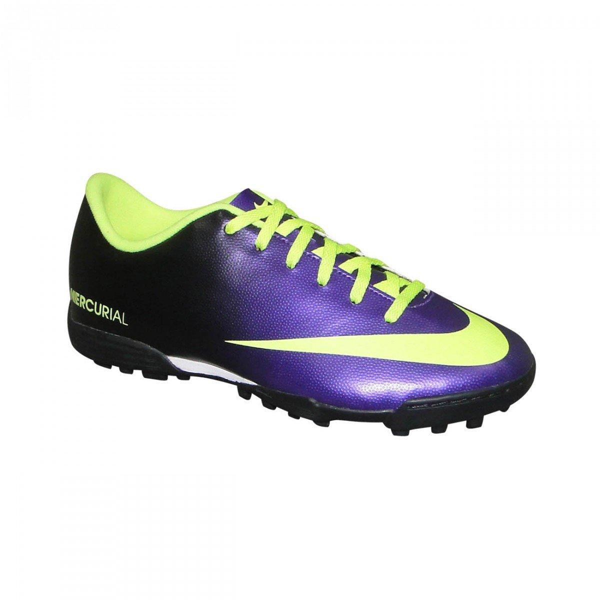 Chuteira Society Nike Mercurial Vortex Infantil - Compre Agora ... 12186ea279010