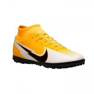 Chuteira Society Nike Superfly 7 Club Amarela Masculino