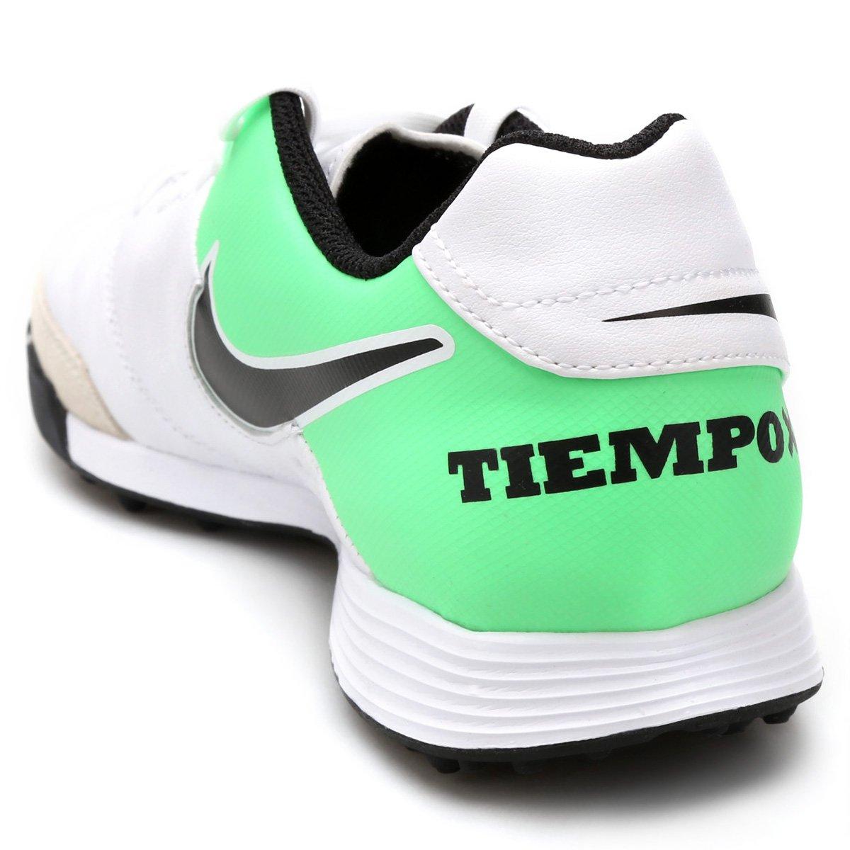 ... Nike 2 TF e Chuteira Branco Society Leather Genio Masculina Verde Tiempo  S5SIfq ... b691c575f74c3