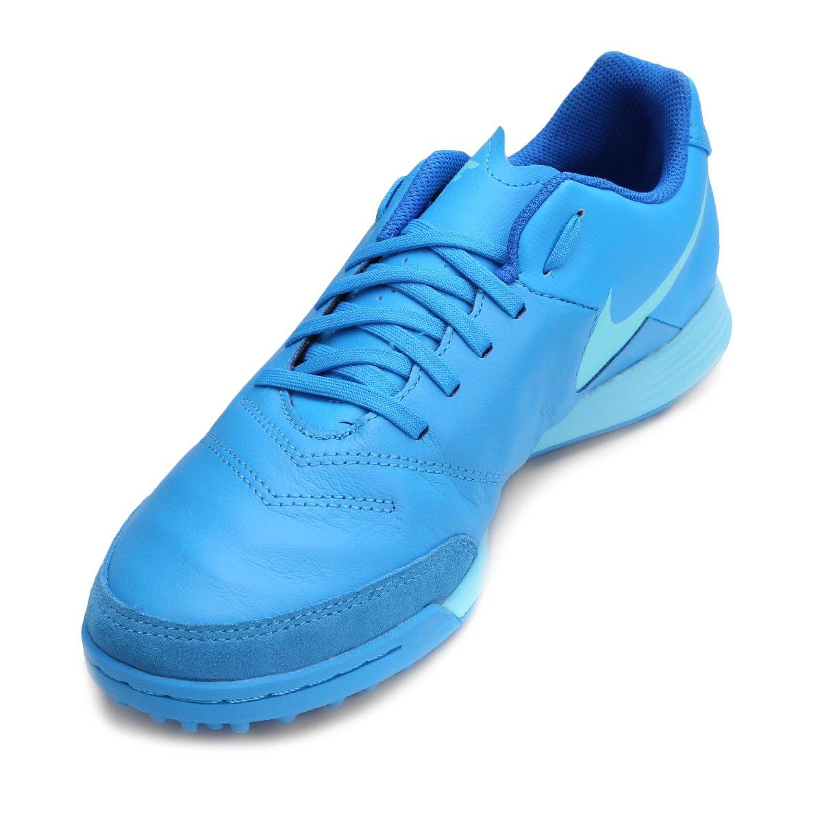 Chuteira Society Nike Tiempo Genio 2 Leather TF - Compre Agora ... b89002b850609