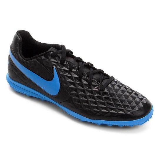 Menor preço em Chuteira Society Nike Tiempo Legend 8 Club - Preto e Azul