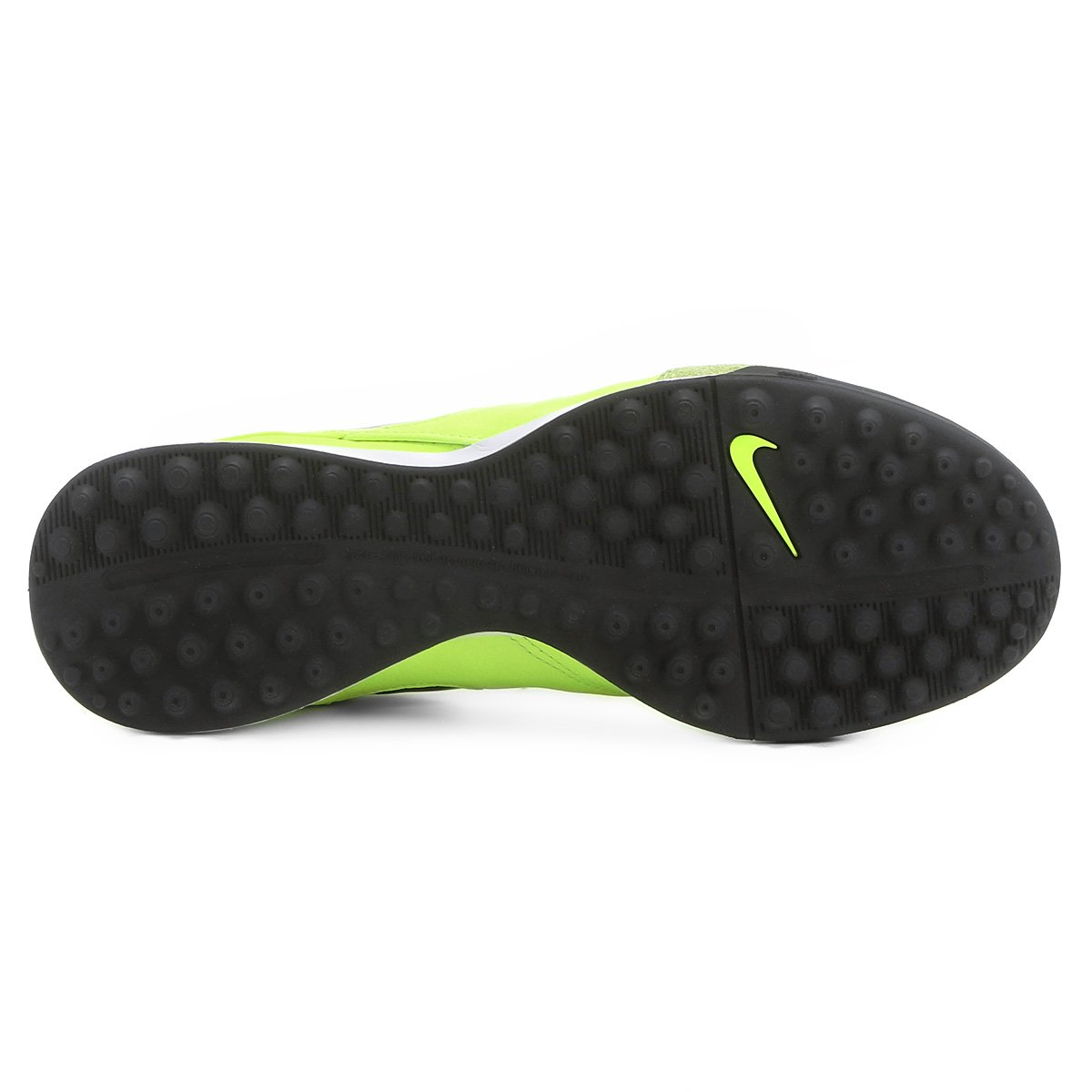 0913313210 Chuteira Society Nike Tiempo Mystic 5 TF - Verde claro - Compre ...