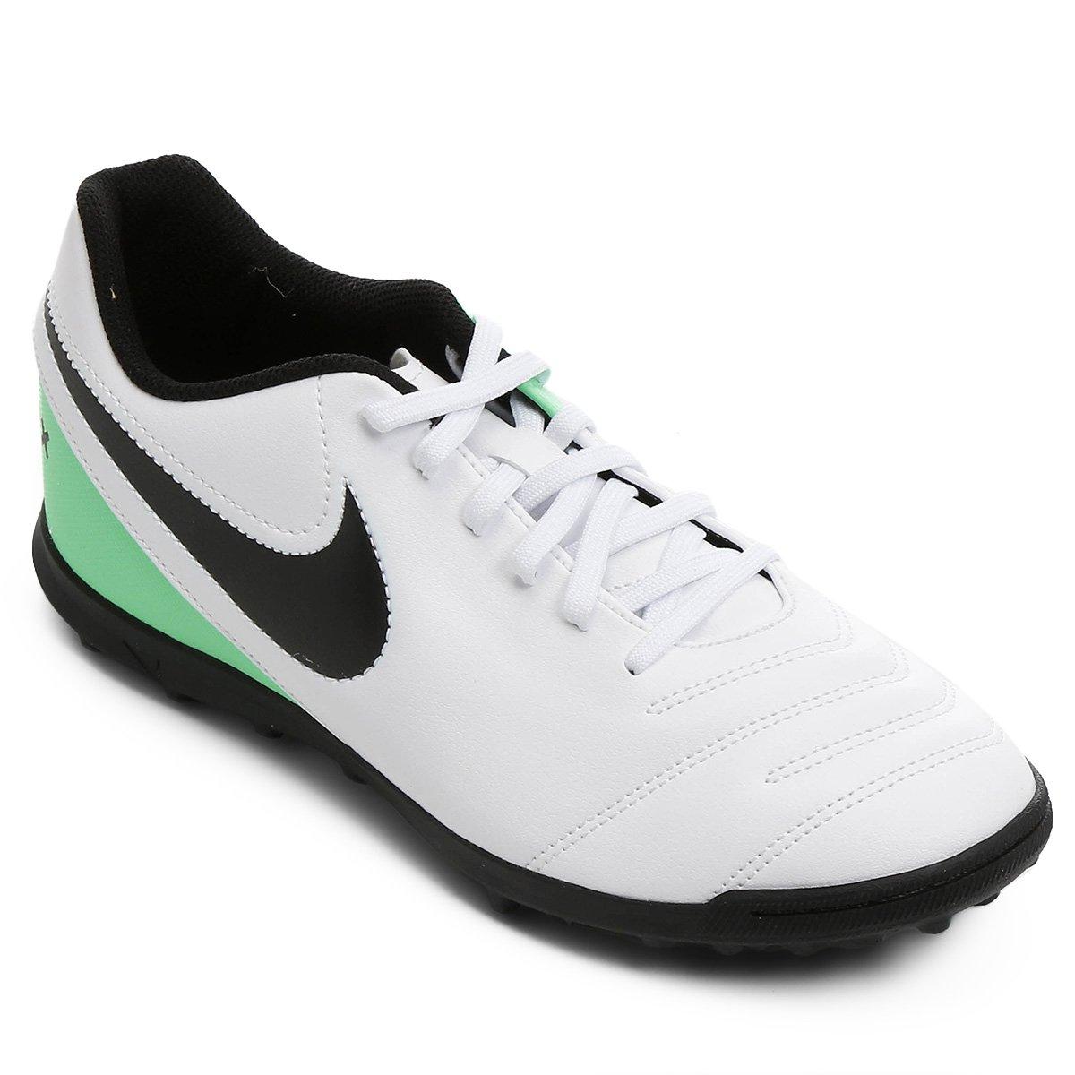 bc1d5171236c2 Chuteira Society Nike Tiempo Rio 3 TF - Compre Agora