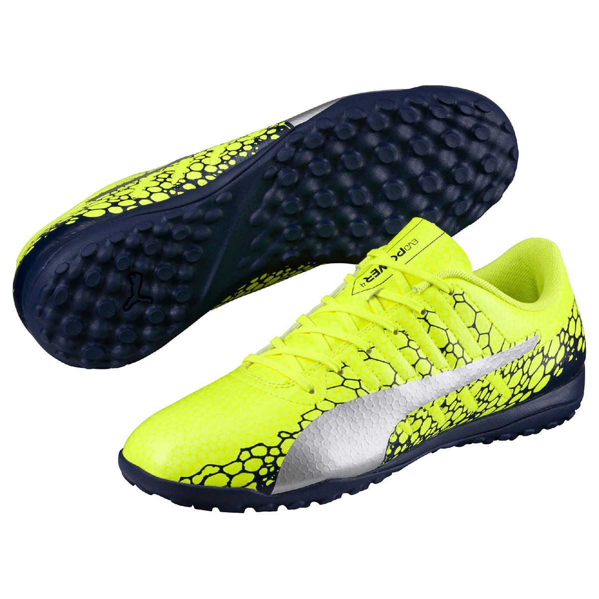 ... best cheap ca221 5fe7d Chuteira Society Puma Evopower Vigor 4 Graphic  TT Masculina  factory price 933be 667fc Chuteira Society Nike Tiempox  Ligera Iv Tf ... 2bb216e11c6a5