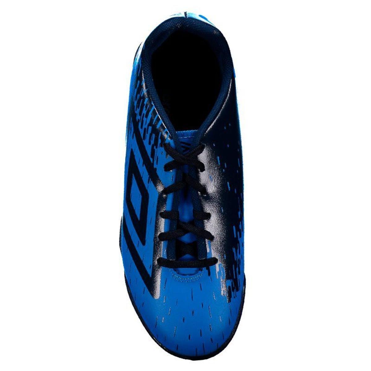Chuteira Society Umbro Acid - Azul e Marinho - Compre Agora  1c4f565f79304