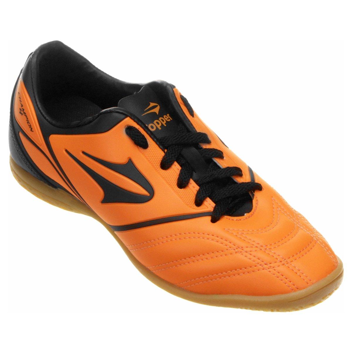 ab8b91e201 Chuteira Topper Champion 4 Futsal - Compre Agora