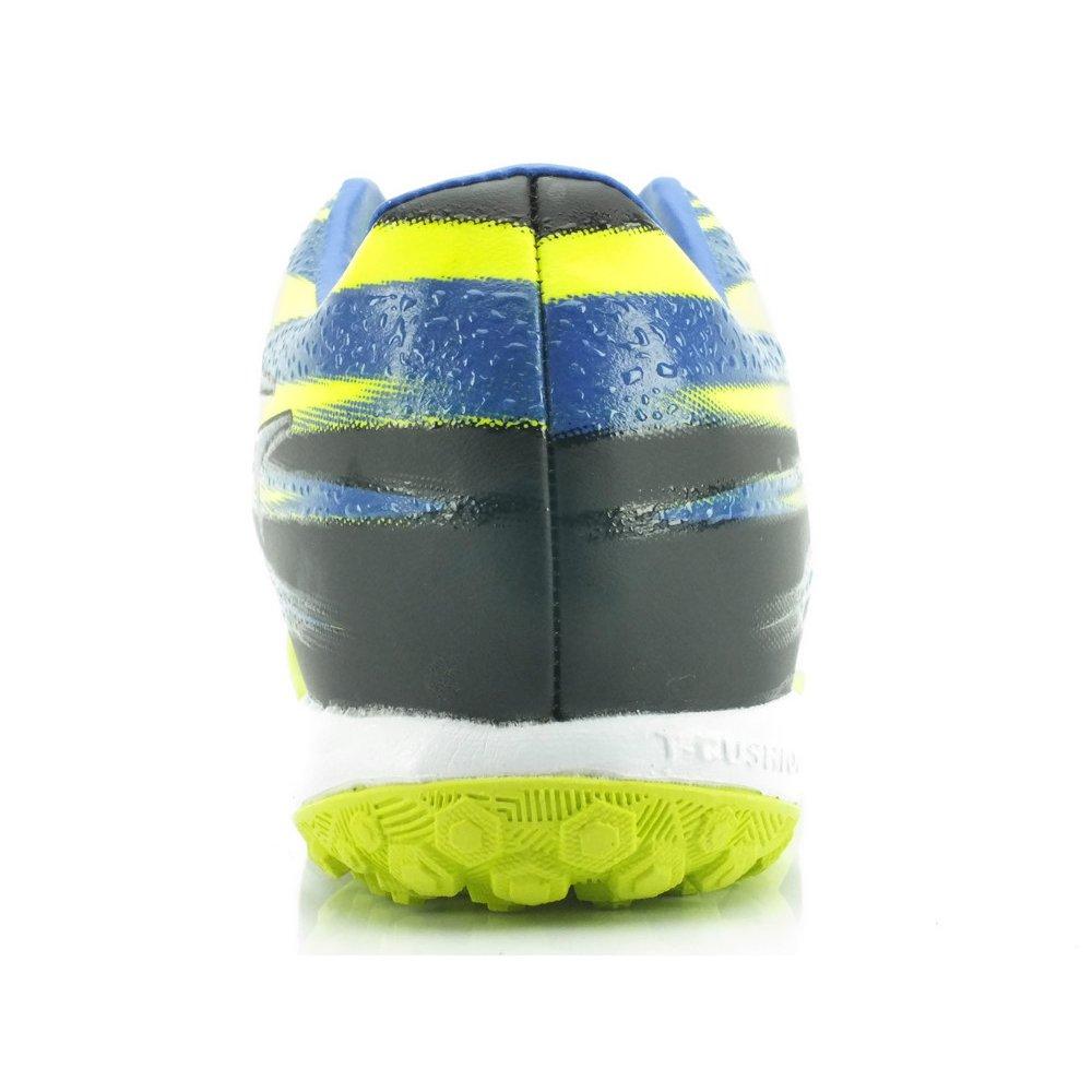 Chuteira Topper Vector II Society - Amarelo e Azul - Compre Agora ... cc74affa3e8cd
