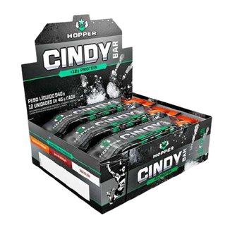 Cindybar 12unidades Doce De Leite Amendoim - Hopper