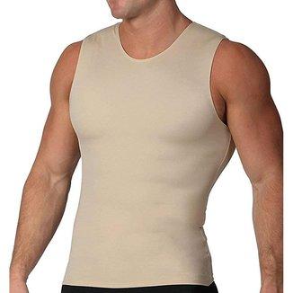 Cinta Modeladora e Postural Alta Compressão Bodyshaper Slim Fitness Masculina