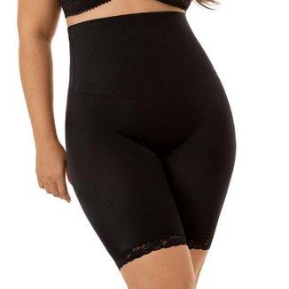 Cinta Modeladora Mondress Cós Duplo Perna Plus Size Conforto