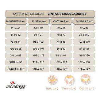 Cinta Modeladora Pós-Parto Zíper e Abertura Mondress
