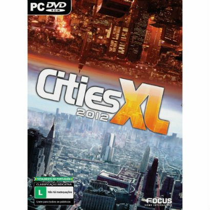 Cities Xl 2012 Pc - Unissex - Incolor
