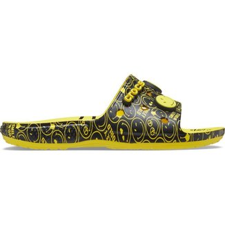 Classic Crocs Smiley Slide