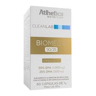Cleanlab Biomega Tg 50/25 60 caps - Atlhetica Nutrition