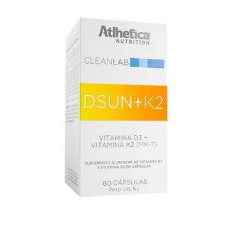 CLEANLAB DSUN + K2 (60 Cápsulas) - Atlhetica Nutrition